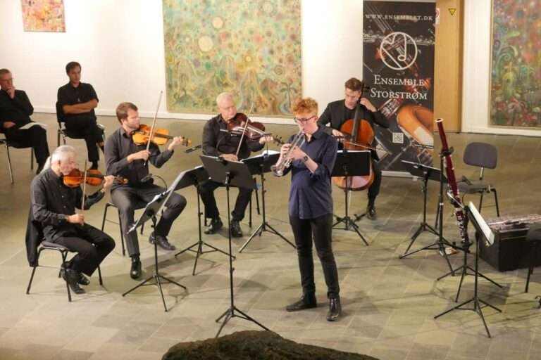 Ung trompetsolist, foto: Bjørn Meldgaard