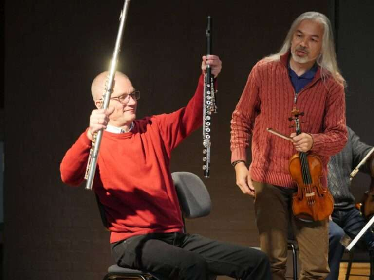 Der vises instrumenter, foto: Bjørn Meldgaard