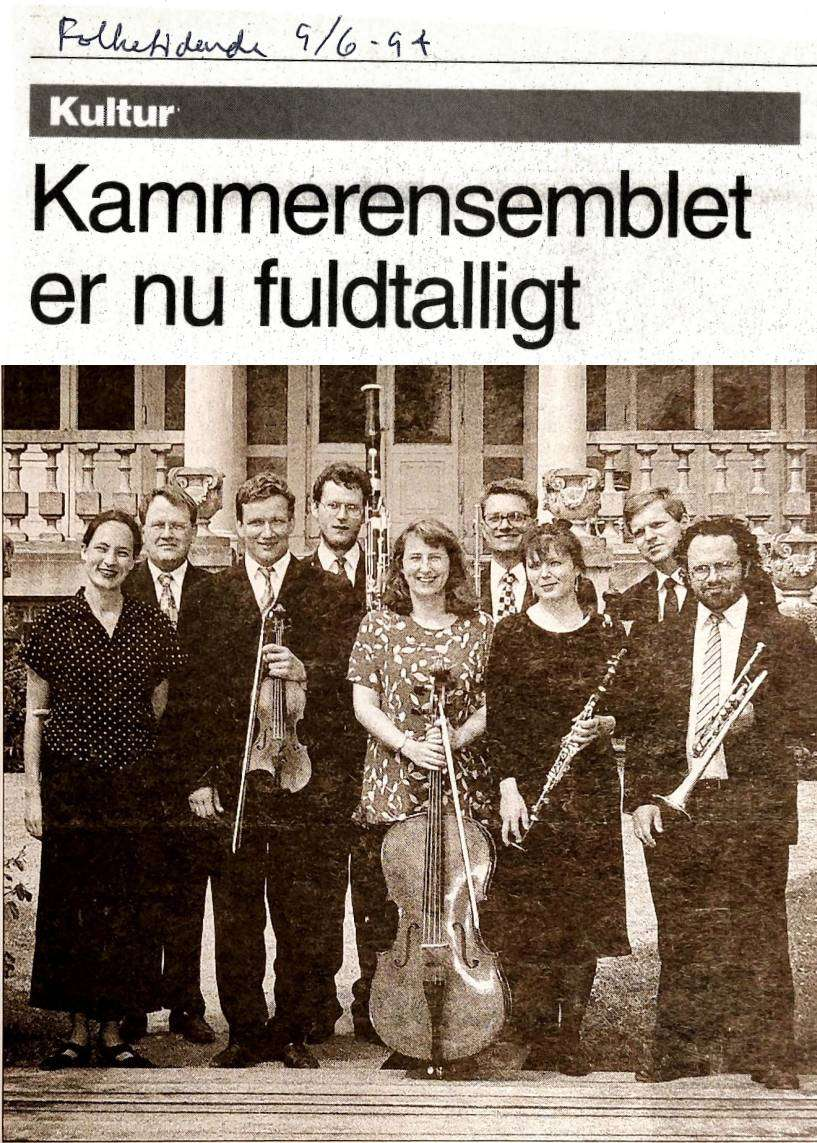Artikel i Folketidende 1994
