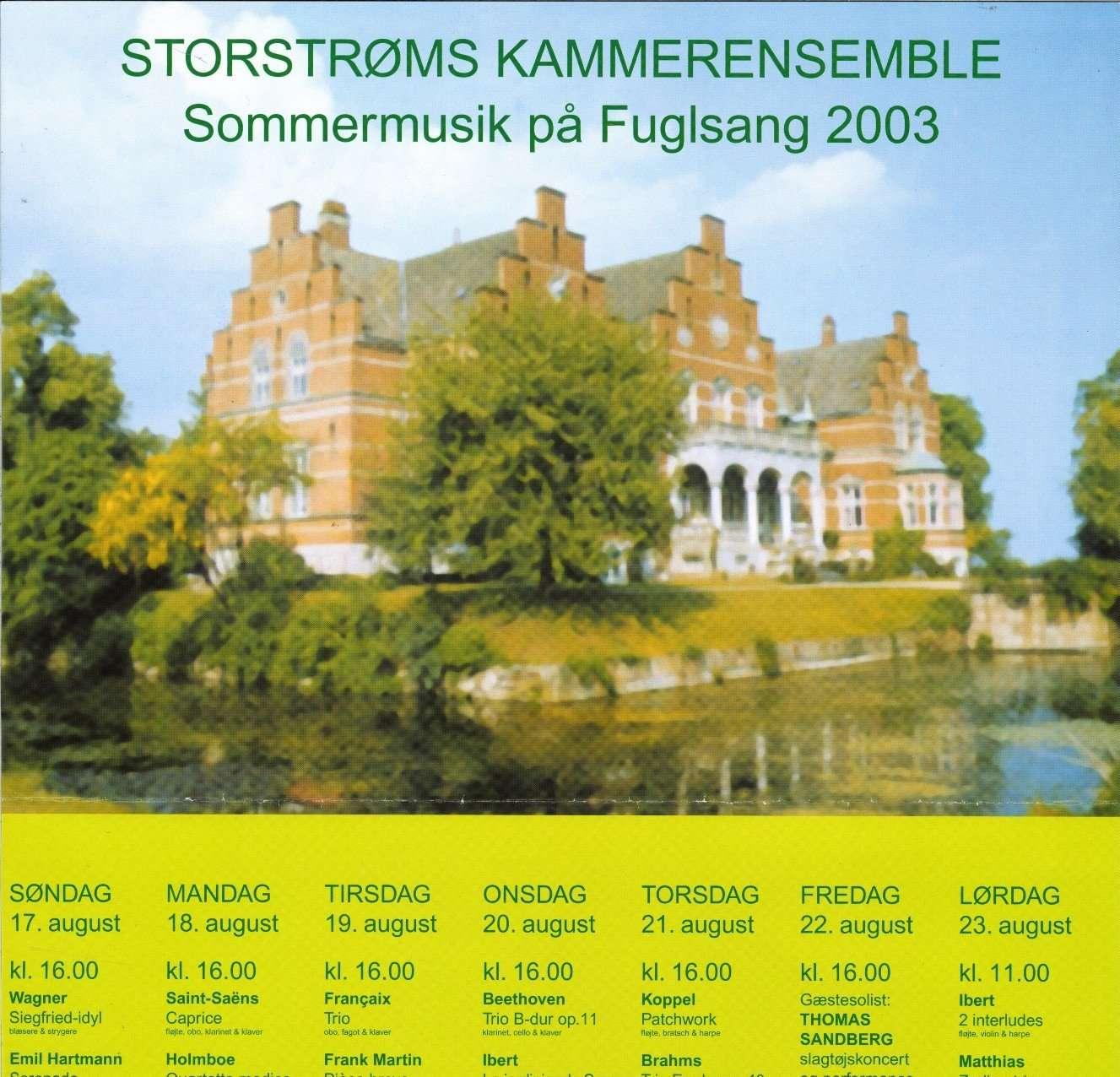 Udsnit af festivalplakat 2003