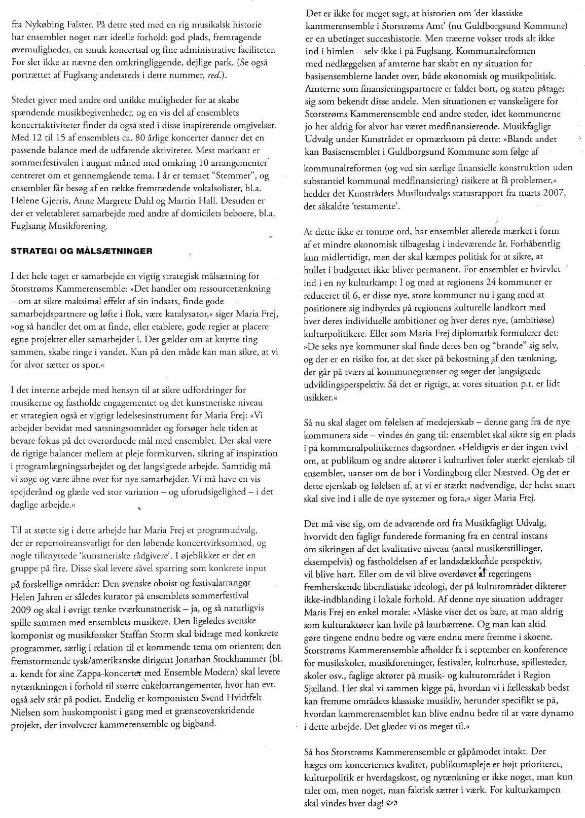 Artikel i DMT, 2007 del 2