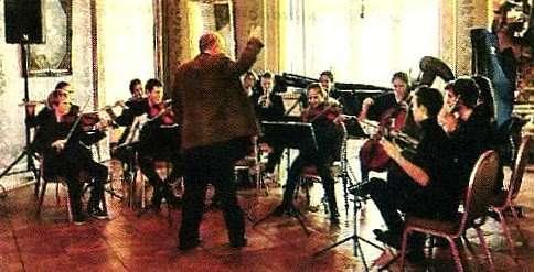 Ensemblets bratschist dirigerer Talentakademiet