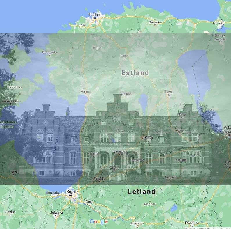 Estland og Letland - med Fuglsang i baggrunden