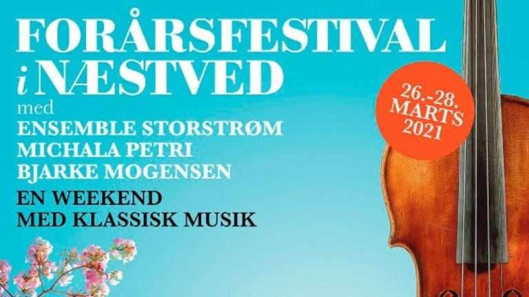 Forårsfestival i Næstved, plakat