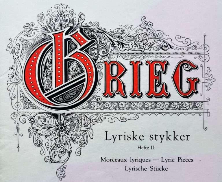"""Griegs """"Lyriske stykker"""""""