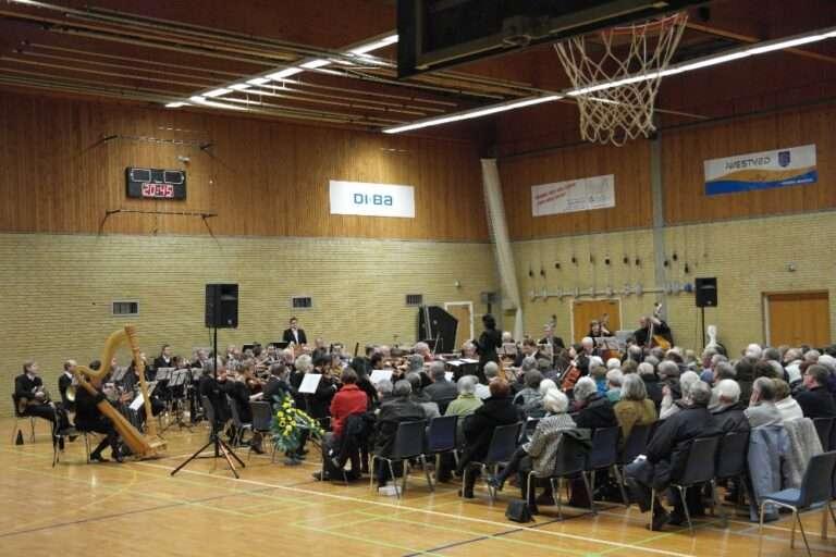 Storstrøms Symfoniorkester spiller koncert