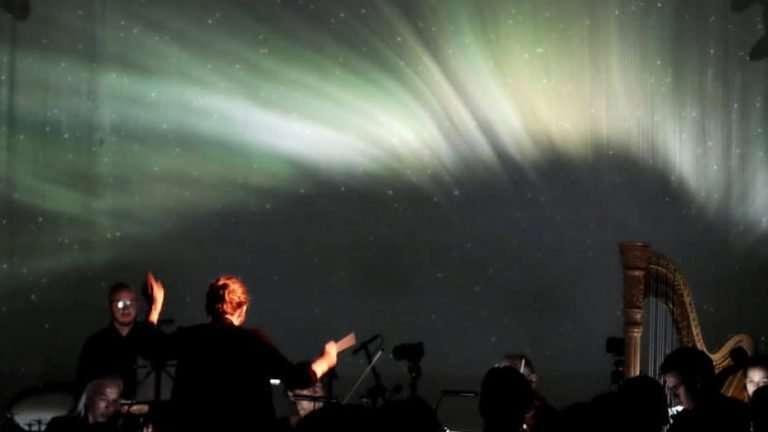 Lichtbogen. Foto Mats Iversen Vangen