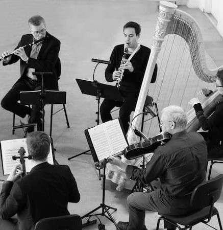 Ensemble Storstrøm spiller koncert; foto: Stéphane Tran Ngoc
