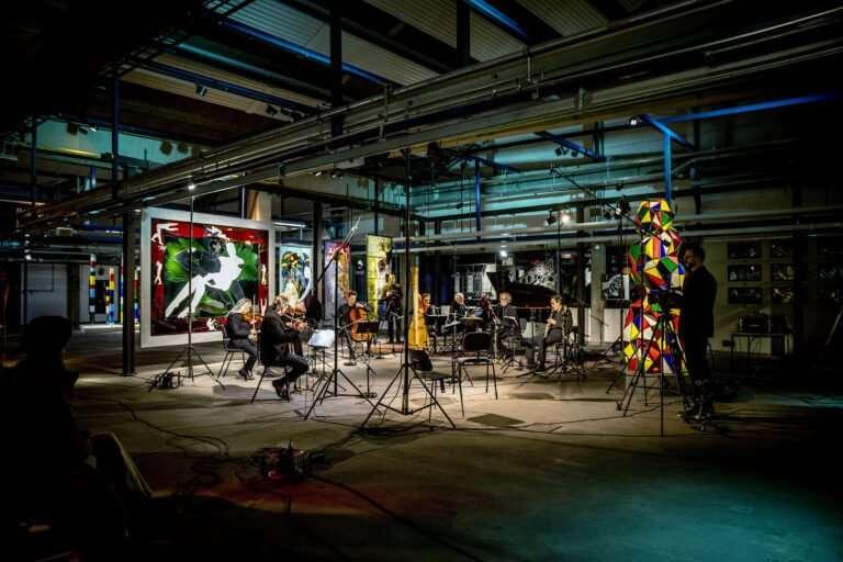 Ensemble Storstrøm på Holmegaard Værk – aften