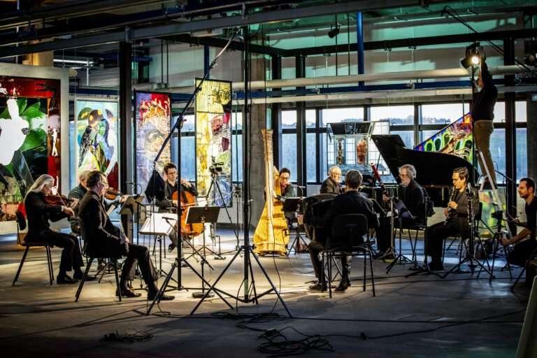 Ensemble Storstrøm på Holmegaard Værk – dag
